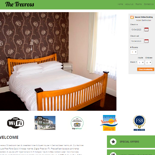 The Trevross Hotel in Great Yarmouth